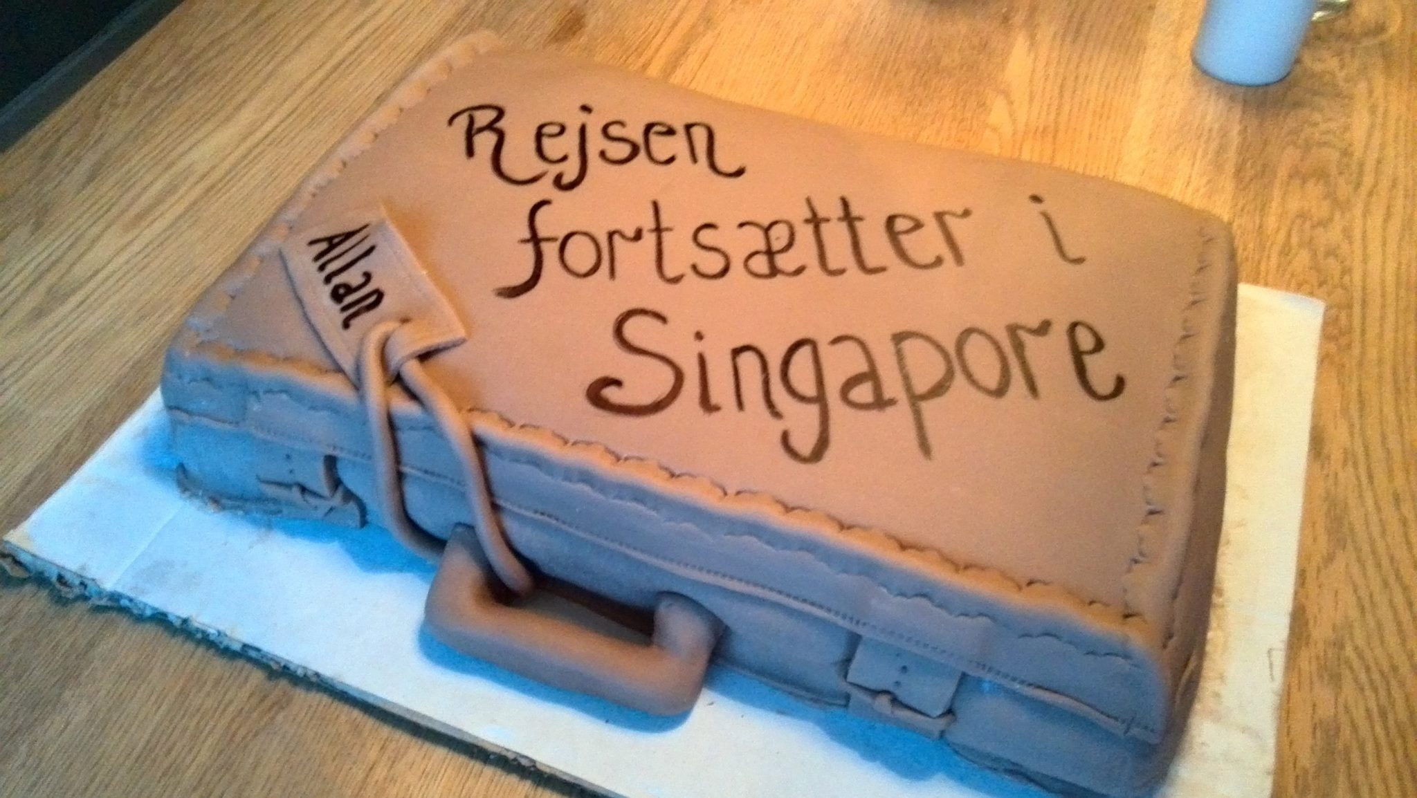 Rejsen fortsætter i Singapore